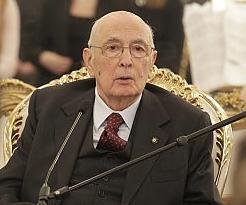 Giorgio Napolitano - presidente della Repubblica