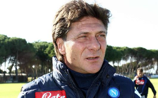 Walter Mazzarri, allenatore del Napoli